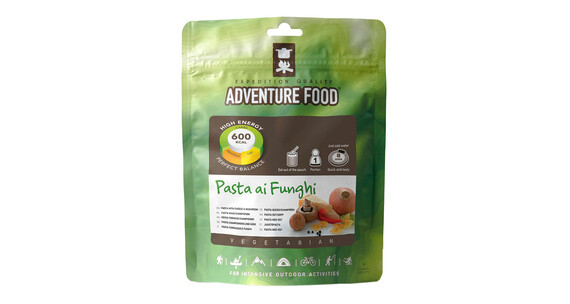 Adventure Food Pasta ai Funghi Einzelportion
